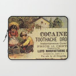 Cocaine Mouth Drops Laptop Sleeve