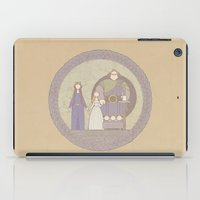 tapestry iPad Cases featuring tapestry...  by studiomarshallarts