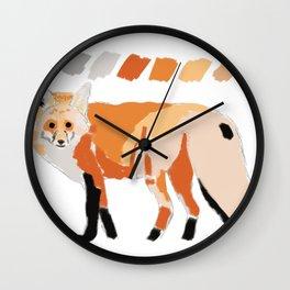 It's a fox thing. Wall Clock