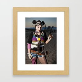 tank girl Framed Art Print