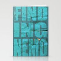 finding nemo Stationery Cards featuring Finding Nemo by Garrett McDonald