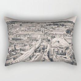 Bath Overlook (B+W) Rectangular Pillow