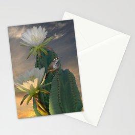 Cactus Wren Stationery Cards