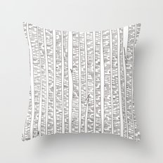 Lost In Stripes Throw Pillow