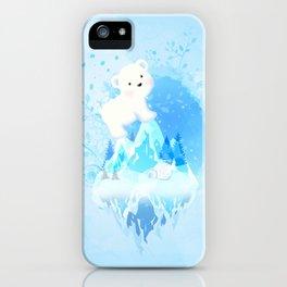 Save Polar Bear! iPhone Case