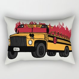 Hate to go Back to School Rectangular Pillow