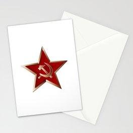 Soviet Badge Insigni Stationery Cards