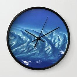 Caribbean Waters Wall Clock
