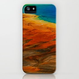 Grand Prismatic Lake iPhone Case