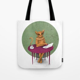 busy pretending Tote Bag