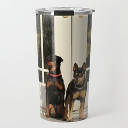 dos doggos Travel Mug