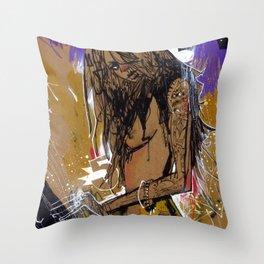 QUEEN FIVE Throw Pillow