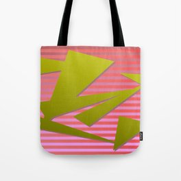 Great triangelium colored  2 Tote Bag