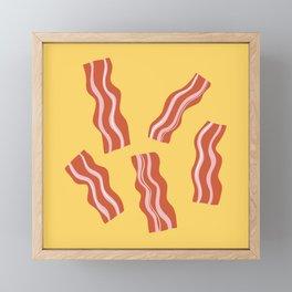 More Bacon Please! Framed Mini Art Print