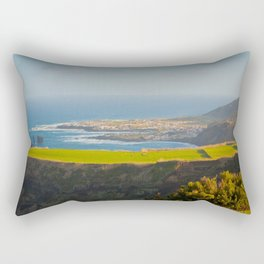 Azores coastal landscape Rectangular Pillow