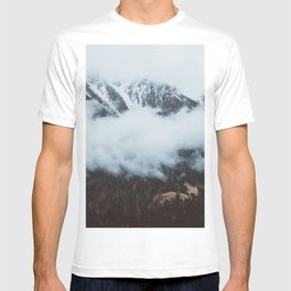 On a cloudy day - Landscape and Nature Photography T-shirt