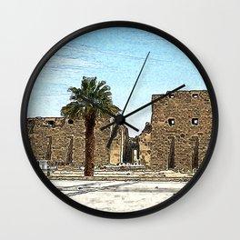 Karnak20160203 Wall Clock