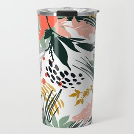 Botanical brush strokes I Travel Mug