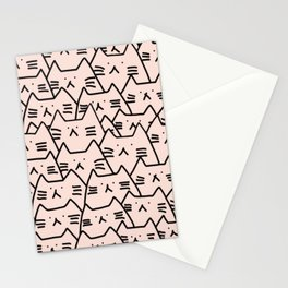 cats 617 Stationery Cards