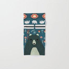 Bear Christmas decoration Hand & Bath Towel