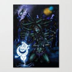 interstellar witch Canvas Print