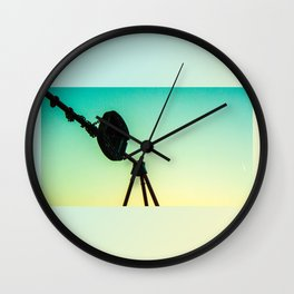 Summertime Swing Set Wall Clock