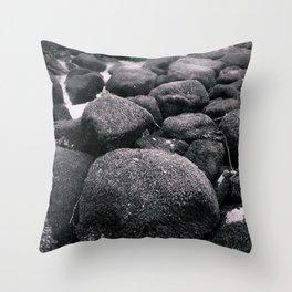 boulder-dash Throw Pillow