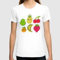fruits T-shirts featuring Kawaii Fruits by Ornaart