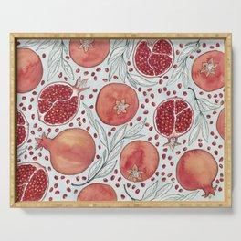 Old Pomegranates Serving Tray