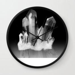 Crystal Cluster, no. 3 Wall Clock