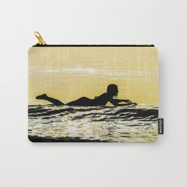 Sunrise Surfer Girl Carry-All Pouch