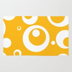 Circles Dots Bubbles :: Mango Rug