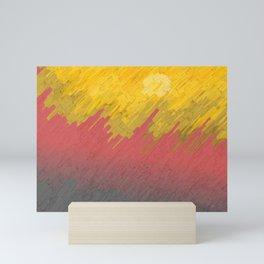 Final in fire Mini Art Print
