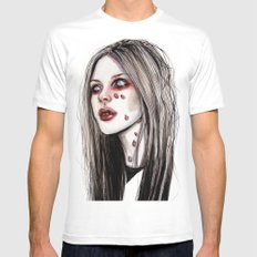 Avril - Under my skin SMALL White Mens Fitted Tee