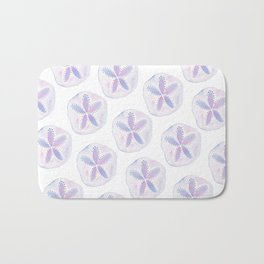 Mermaid Currency - Purple Sand Dollar Bath Mat