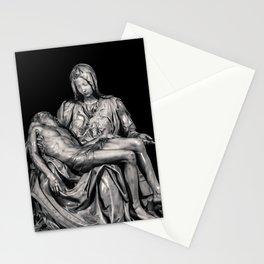 Michealangelo Masterpiece La Pieta Sculpture Stationery Cards