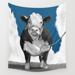 Welcome to the Pasture 2 Wall Tapestry