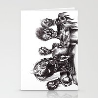 zombies Stationery Cards featuring Zombies by Niky Boo