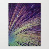 fireworks Canvas Prints featuring Fireworks by Françoise Reina
