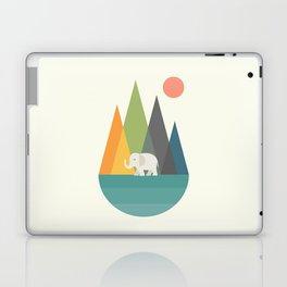 Walk In Peace Laptop & iPad Skin