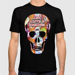 86 Mob of Skulls v2 3300 x 5100 S6 TEE  T-shirt