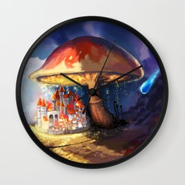 Tiny Kingdom Wall Clock