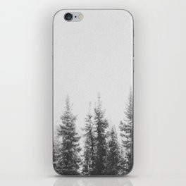 PINE TREES iPhone Skin