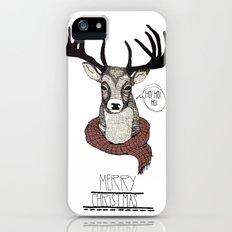 Christmas Deer Slim Case iPhone (5, 5s)