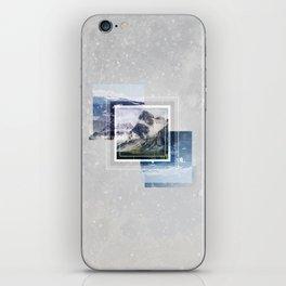 Inspiring mountain iPhone Skin