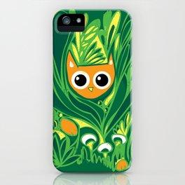 Cat in the Wild iPhone Case