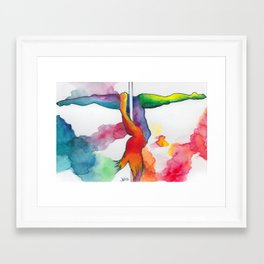 Tiny Dancers Collection: Patti  Framed Art Print