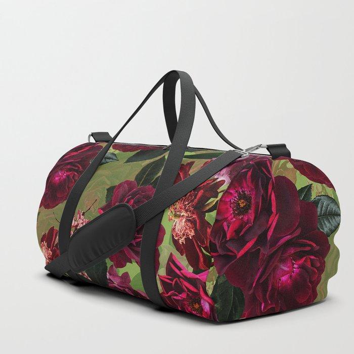 Vintage & Shabby Chic - Botanical Roses Summer Garden   Duffle Bag