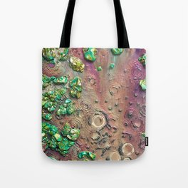 Accretion, drink from the empyrean elixir littered with chimeric loam Tote Bag
