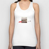 pilot Tank Tops featuring Third Pilot by Matt Hendon